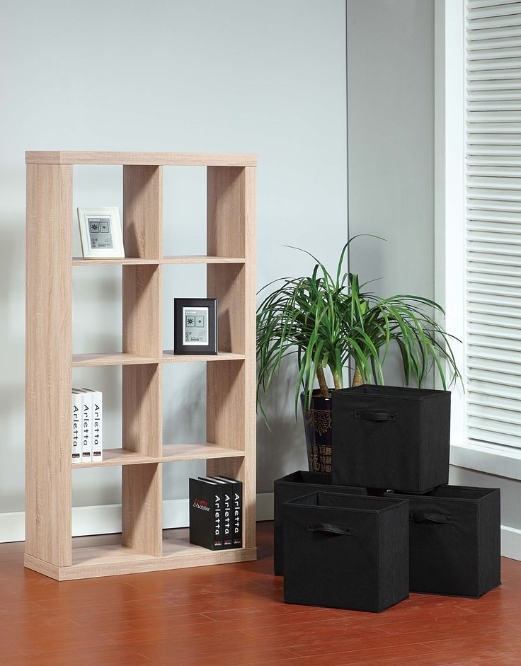 14942 Bookcase Smart Home Modern Weathered