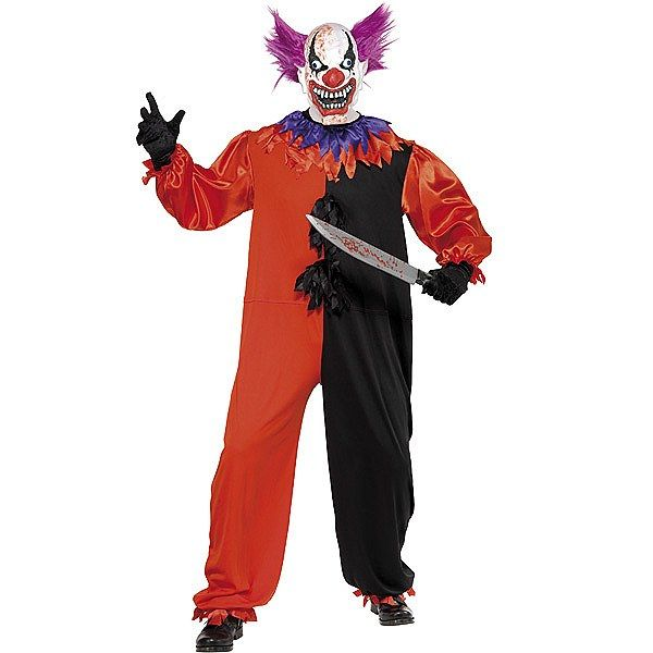 Disfraz de Payaso Terrorifico #miedo #terror #payasos #disfraces #halloween