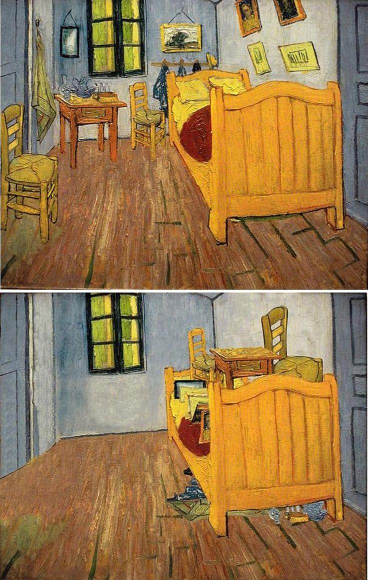 78 best ideas about bedroom in arles on pinterest | van gogh