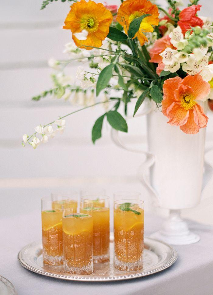 Citrus and Sage Signature Cocktails