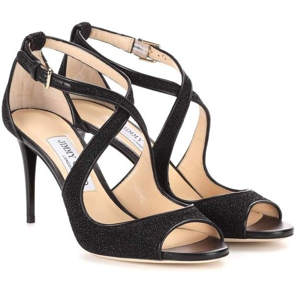 Sandals for Women, Black, Suede leather, 2017, 3.5 6 Jimmy Choo London