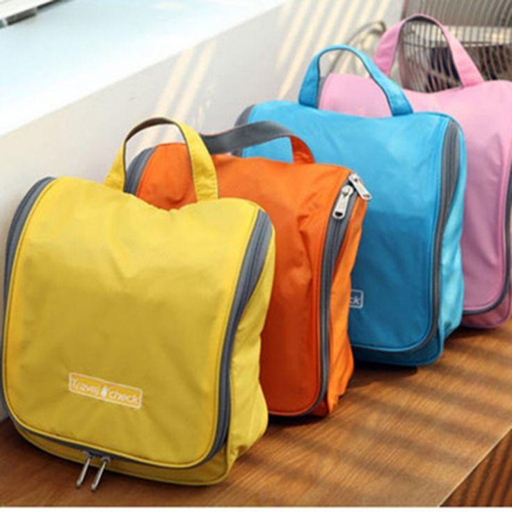 Travel Cosmetic bags big Capacity Toilet Kit / Wash bag Make up Bag Hanging Purse Storage Sorting bags in bar