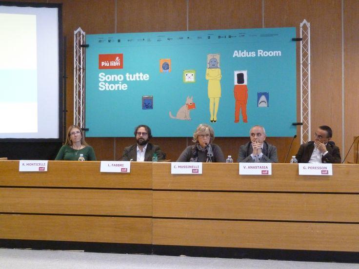 Eccomi al convegno sul self-publishing, Più Libri Più Liberi (Roma), 10 dicembre 2016.