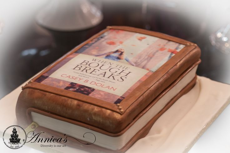 Book launch cake by Annica's