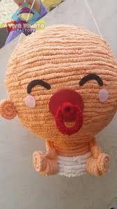 Resultado de imagen para piñatas para baby shower niña