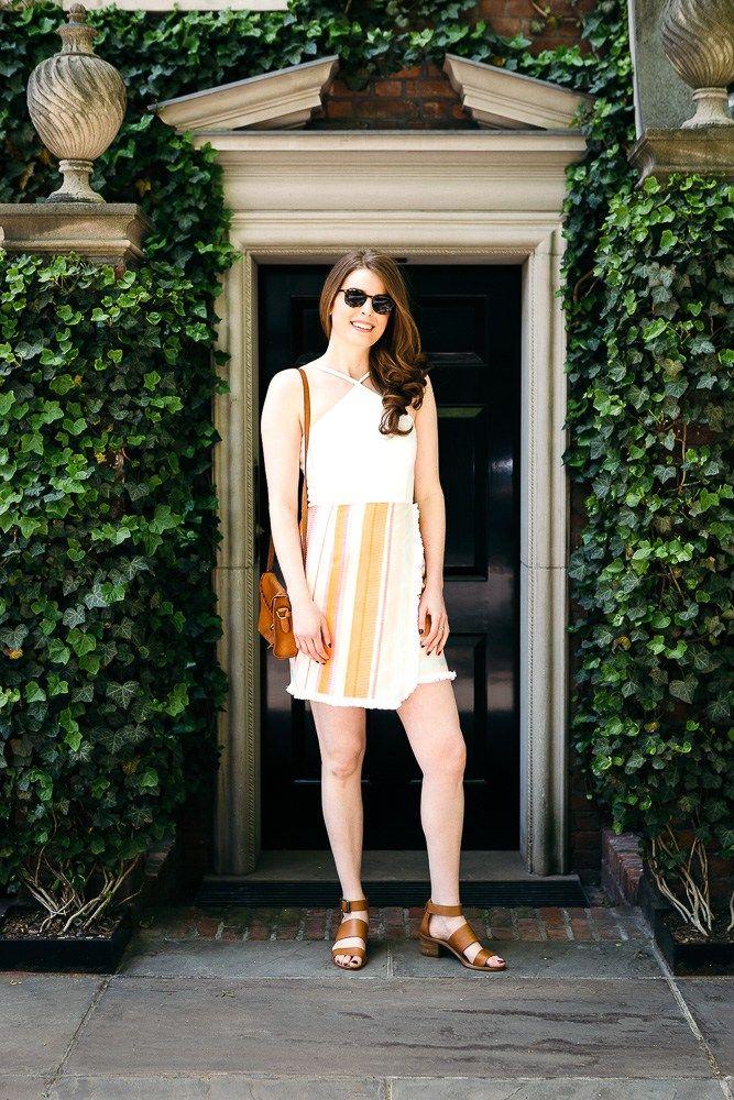 Anthropologie Halter Dress #anthropologie #sundress #summerstyle