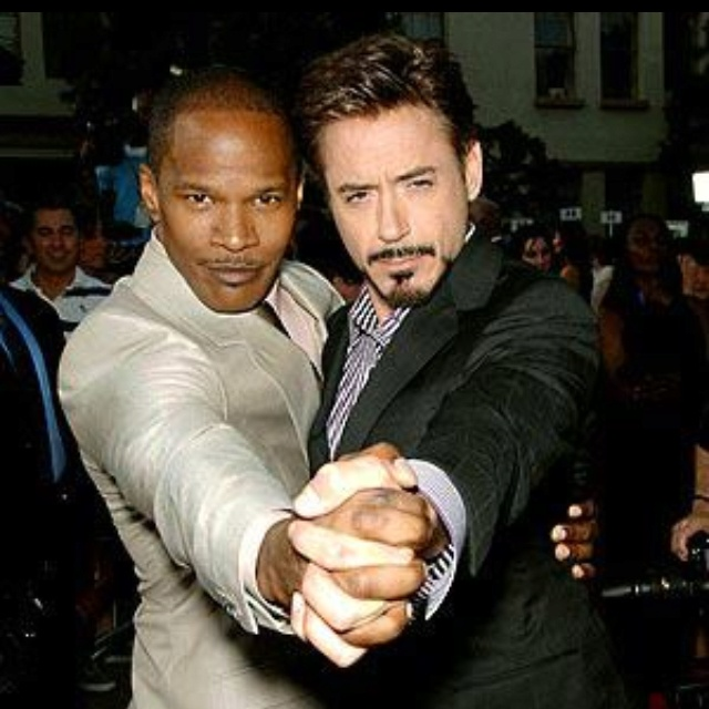 Jamie Foxx and Robert Downey, Jr. ❤My boys!Robert Downey Jr, Actor Ever3, Hotguys Hotties, Boys, Red Carpets, Dance Photos, Celebrities Crushes, Jamie Foxx, People