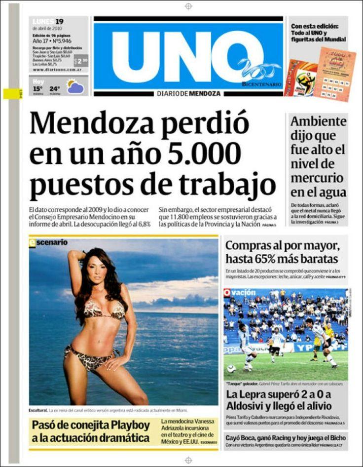 Diario Uno ( Mendoza - Argentina )