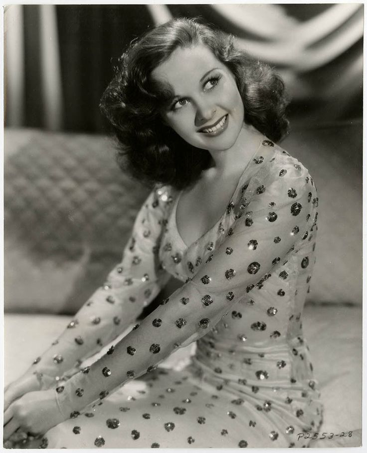 Radiant Redhead Early Susan Hayward Vintage 1939 Beau Geste Ingenue Photograph