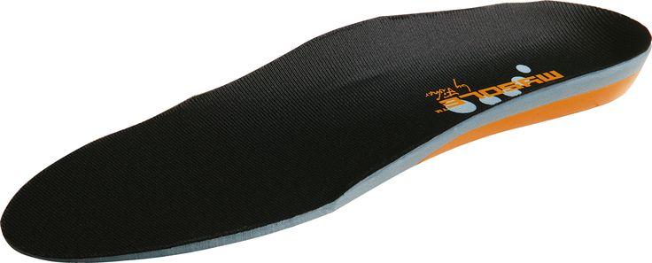 Esta plantilla se ha desarrollado especialmente para su uso en los zapatos para correr.    El MYSOLE ™ Running proporciona un soporte óptimo a mediados trasera y en los pies.  Ofrece la absorción de choque necesaria durante la llamada fase de aterrizaje.  El MYSOLE ™ Running garantías...