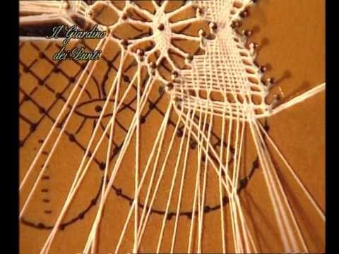 6° Corso di pizzo al tombolo in DVD - YouTube