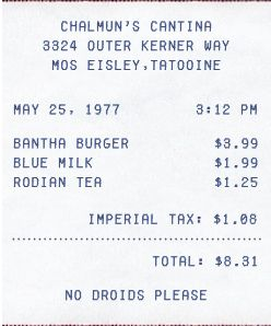 14 best receipt artwork images on pinterest artists art for The menu moss eisley canape