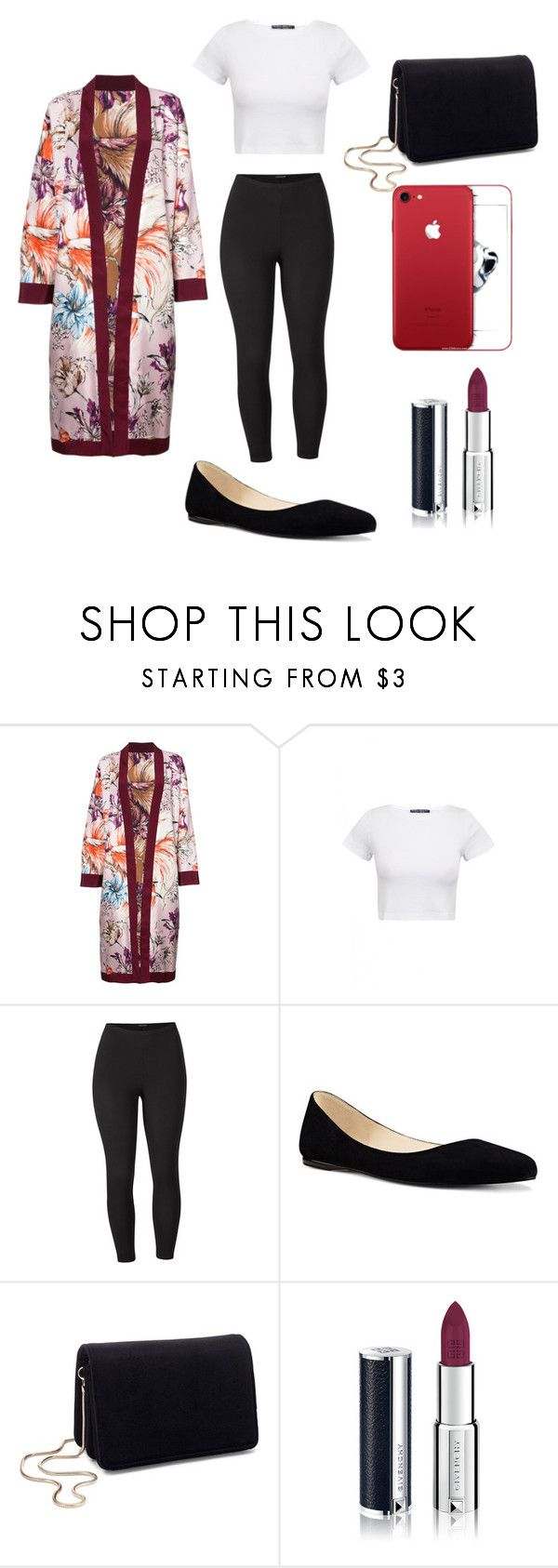"""Night out with friends"" by fleurrouge ❤ liked on Polyvore featuring FAUSTO PUGLISI, Venus, Nine West, Miss Selfridge, Givenchy and plus size clothing"