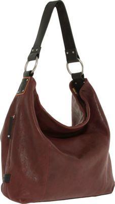 Ellington Handbags Sadie Glazed Hobo Oxblood - via eBags.com!