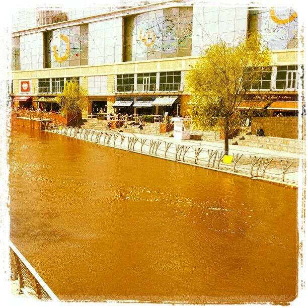 The Riverside after lots of rain!