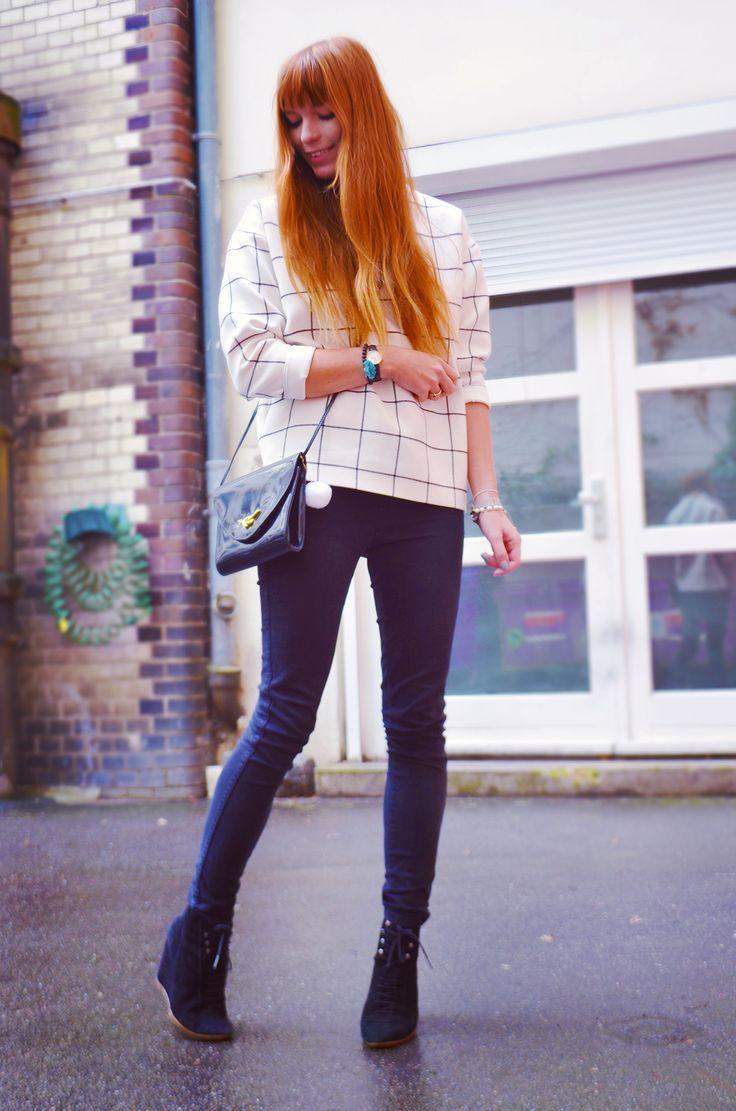 Berlin fashion blogger, Berlin street style black+white