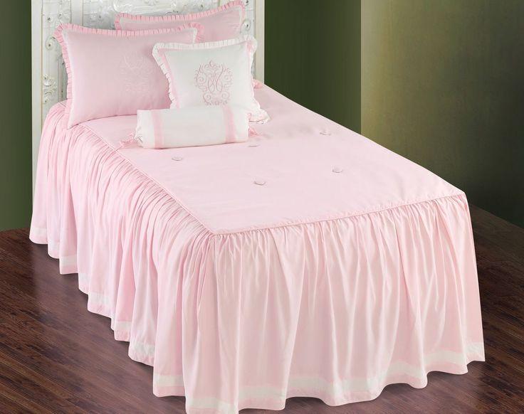 Hallmart Daphne PInk Comforter SetLittle Girls PInk Bedding SetsGirls Bedding  For the little