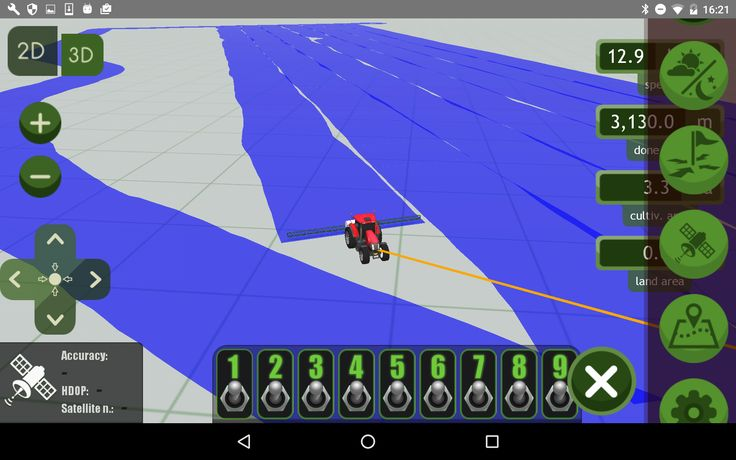 Session and field data visualization on Google map http://machineryguideapp.com  #MachineryGuide #GPS #tractor #guidance #application #agriculture #tractorgps #googlemaps