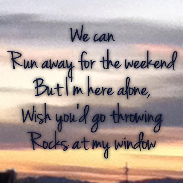 Rocks at my window- Bridget Mendler