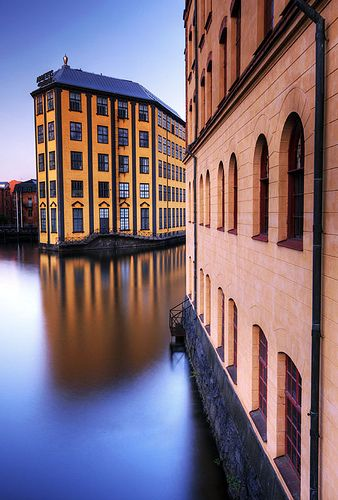 Norrkoping, Sweden. OMG I love it. Looks so romanitc. can't believe this is in Sweden.
