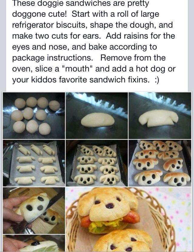 Doggie Sandwiches