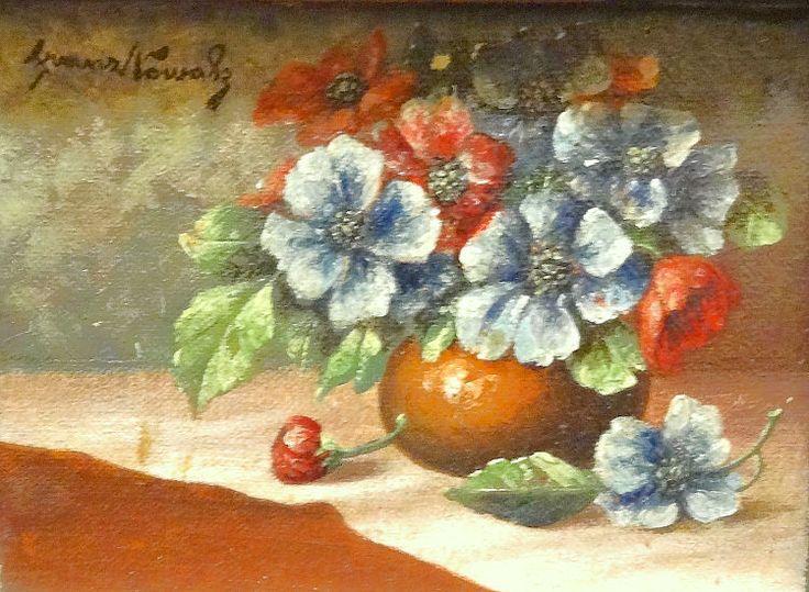 Franz Nowak - Stillleben mit Blumen