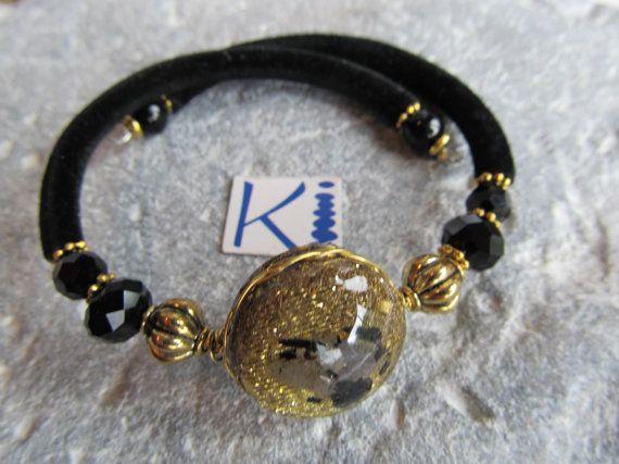 Orgone Bracelet Black Tourmaline and Labradorite Copper or