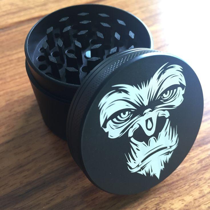 4 Strato di 50mm Herb Tabacco Spice Weed Erba Grinder Smoke Crusher Manovella Mill Impollinatore chicha Accessori Per il Fumo