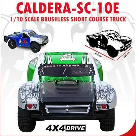 Caldera SC 10E Short Course Truck 1/10 Scale Brushless Electric (17540 Chatsworth St): Caldera SC 10E Short Course Truck 1/10 Scale…