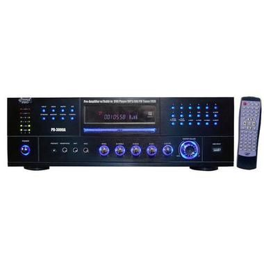 Pyle Amp W/ built in DVD player & AM/FM tuner 3000 watts M119-PD3000A
