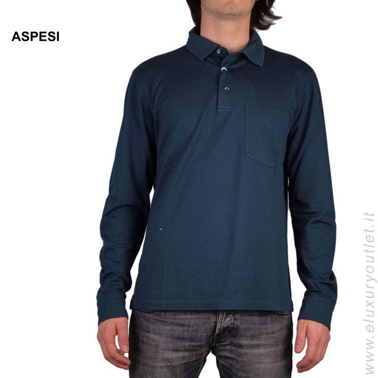 #Aspesi #polo -60% su #eluxuryoutlet! >> http://www.eluxuryoutlet.it/it/uomo/top-wear/polo/polo-aspesi-1.html