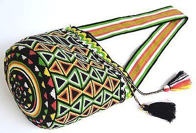 подлинный mochila wayuu / большой размер / лучшего качества / ручной работы крест тела сумка