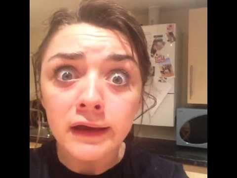 Arya Stark's reaction to The Red Wedding (Maisie Williams)