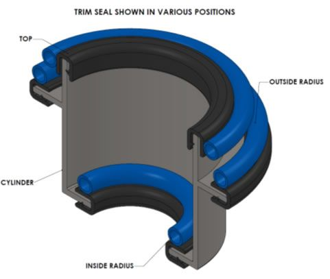 trim seals | ... Product Builder - Hatch Seal - Trim-Lok