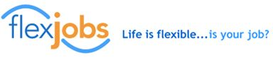 Flexjobs.com is a reputable site with job listings for telecommuting, part-time, and flexible jobs.