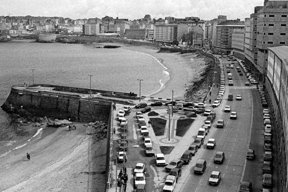 El Paseo del Orzán en 1988