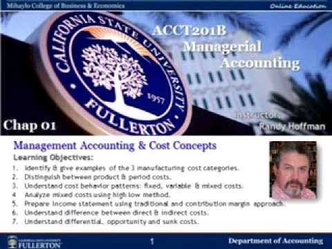 cost accounting chap 1 reviewer Chapter 1: fundamentals of accounting 1 it ignores the effect of price level changes accounting statements are prepared at historical cost.