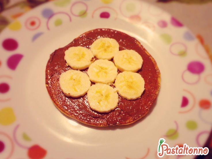 Merenda con i #Pancake #food #recipe #student #ricetta #Nutella http://pastaltonno.it/pancakes/