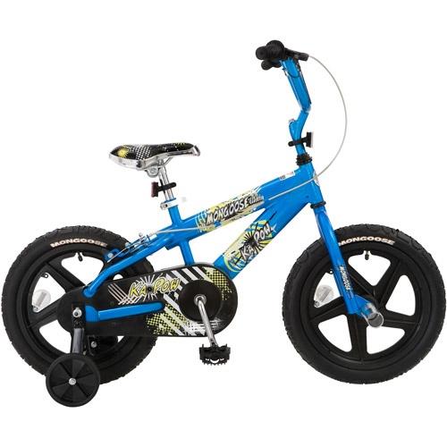 "Mongoose Kapow 16"" Boys' Bike"