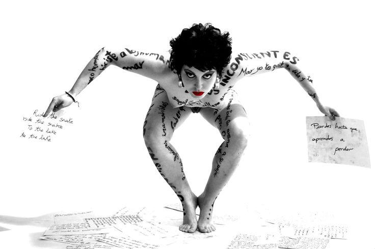 Poesía al desnudo - Vanessa Alami Photography