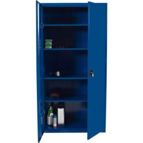 68b21f9eb3d Opbevaringsskab model midi blå - køb til fast lav pris - Lomax A/S ...