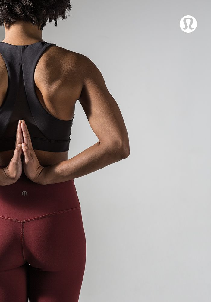 All you need is less—practice in distraction-free lululemon gear.
