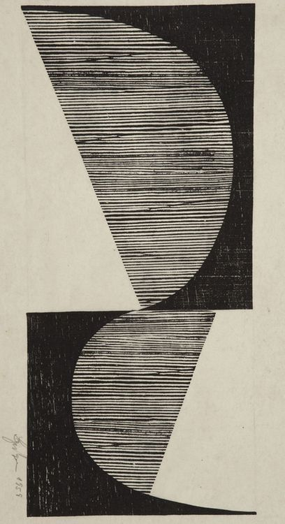 SHAPE Line Tone ....... ...... ...... . .... .... .. .. .. .. Untitled, Lygia Pape, 1958