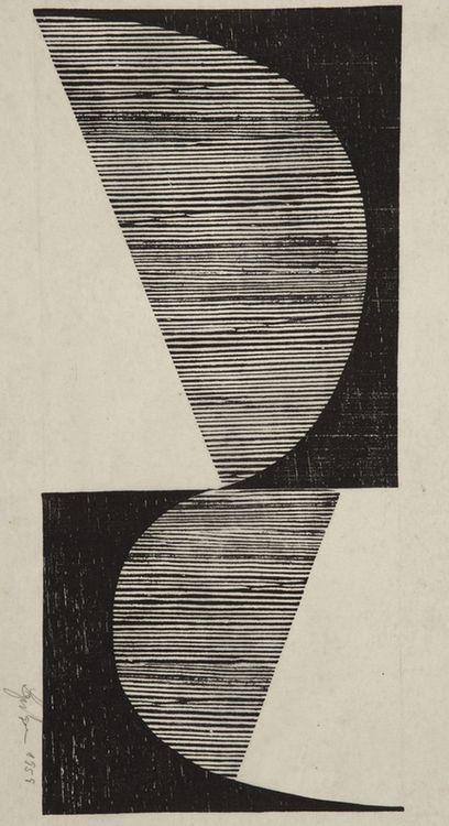 Untitled, Lygia Pape, 1958.