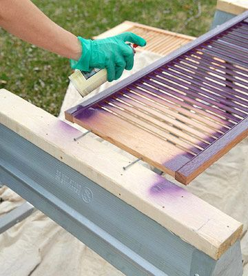 How to Paint Exterior Vinyl Shutters
