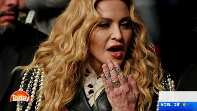 Merrick Watts: Madonna is 'Hollywood's most attractive stroke victim'...because of her hands.