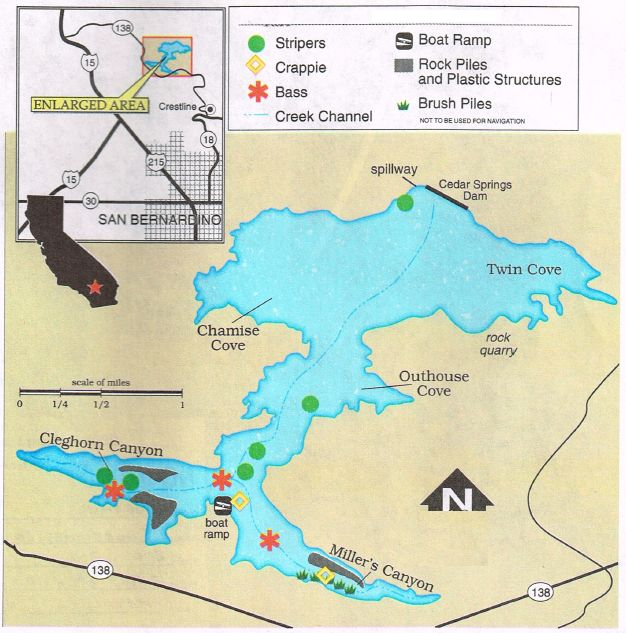 127 best free hunt fish maps of california and oregon for San luis reservoir fishing report 2017