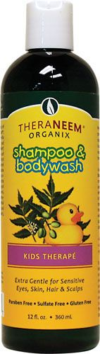 TheraNeem Organix Shampoo & Bodywash Kids Therape