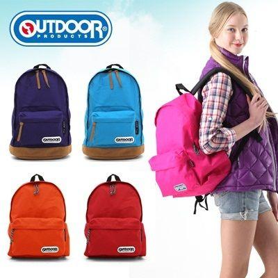 Qoo10 - 【ネット最安値クラス/春定番リュック】<OUTDOOR>リュック 452U、4052EXPT 通勤通学 送料無料 : バッグ・靴・小物