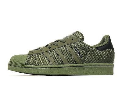 Adidas Superstar Weave Khaki-Olive Green UNISEXThe legendar size 3 ...